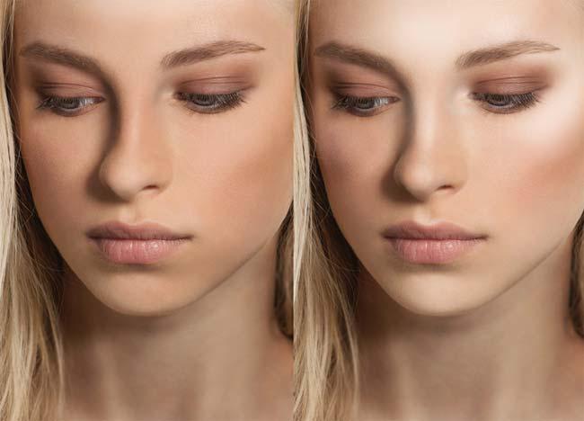 Cómo aplicar el iluminador facial